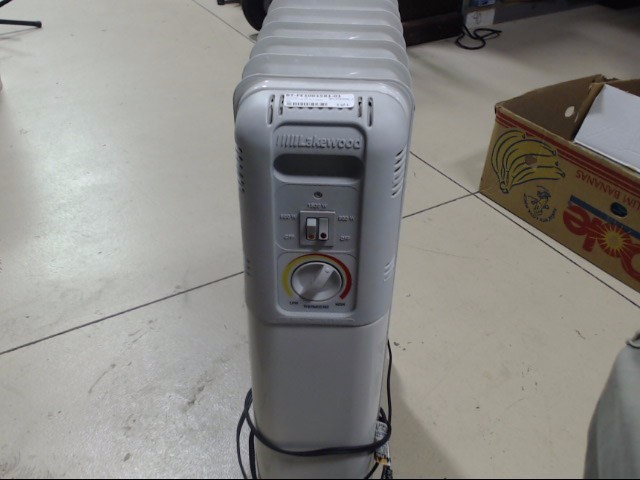 LAKEWOOD Heater 7101 HEATER