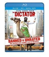 BLU-RAY MOVIE THE DICTATOR BANNED & UNRATED