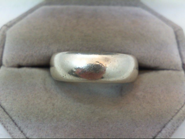 Gent's Silver Wedding Band 925 Silver 7.2g