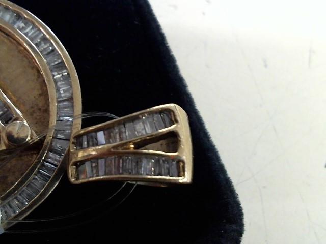 Gold-Multi-Diamond Pendant 176 Diamonds 5.18 Carat T.W. 14K Yellow Gold 20.6g
