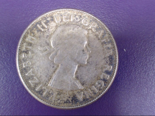 CANADA Silver Coin 1959 50 CENT