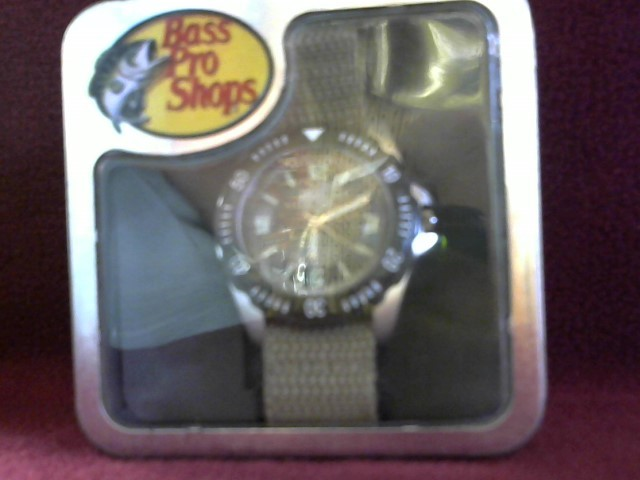 BASS PRO SHOP Gent's Wristwatch QUARTZ WATCH