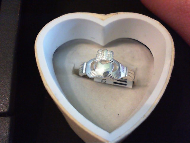 Lady's Silver Ring 925 Silver 2.5g