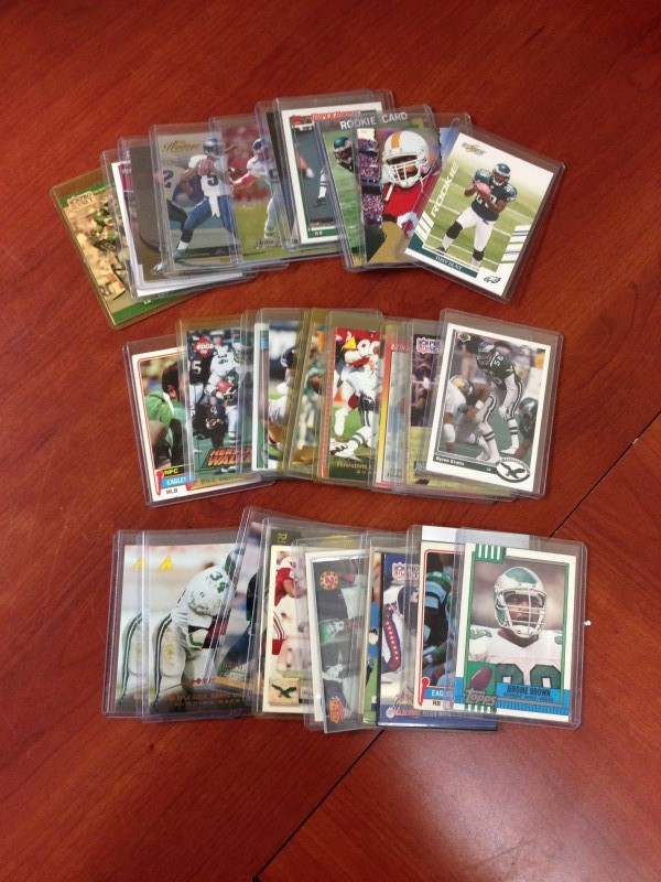 PHILADELPHIA EAGLES CARD LOT