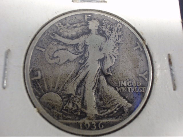 UNITED STATES Silver Coin 1936 WALKING LIBERTY