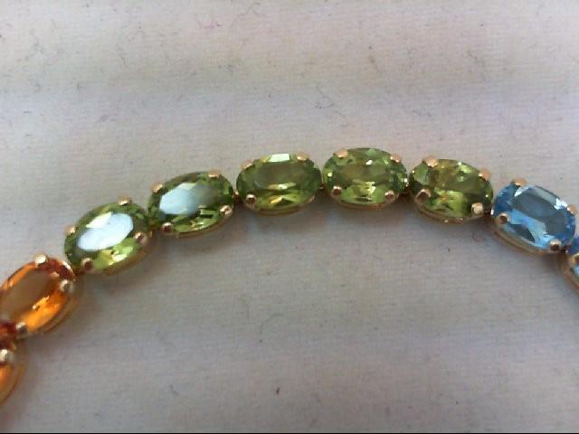 Gold Bracelet 14K Yellow Gold 6g