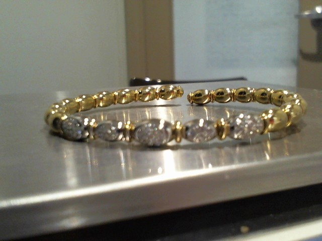 Gold Bracelet 18K Yellow Gold 13.3g