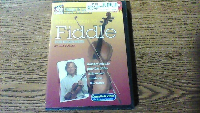 WATCH & LEARN DVD INTRO TO FIDDLE