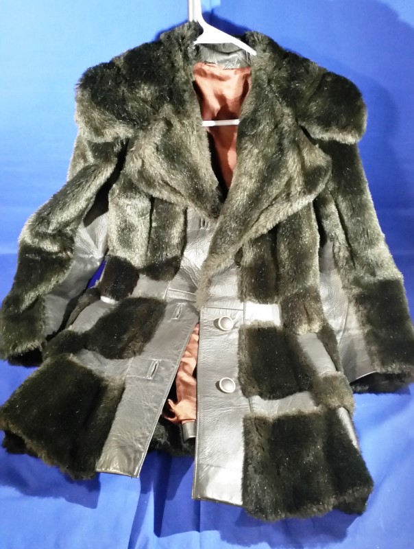 JET SET OF CALIFORNIA Clothing FUR / LEATHER COAT
