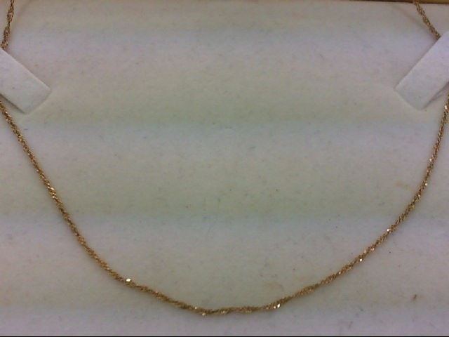 "18"" Gold Chain 14K Yellow Gold 1.9g"