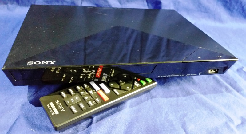 SONY BLU RAY PLAYER BDP-S1200