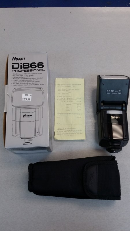 NISSIN FLASH DI866