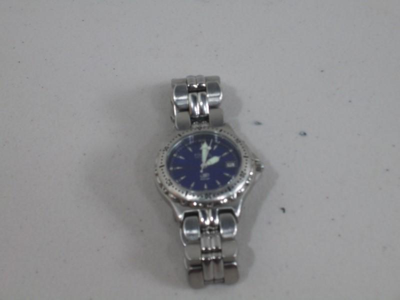 FOSSIL Gent's Wristwatch BLUE AM-3593