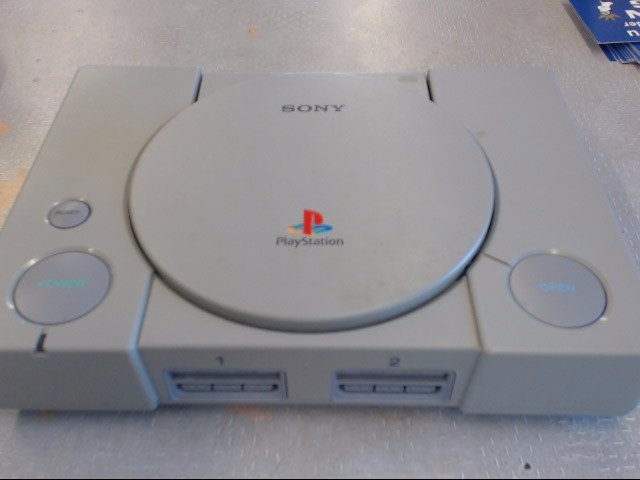 SONY PLAYSTATION ORIGINAL PLAYSTATION VIDEO GAME CONSOLE