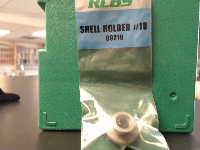 RCBS SHELL HOLDER #18  #09218 .44 mag