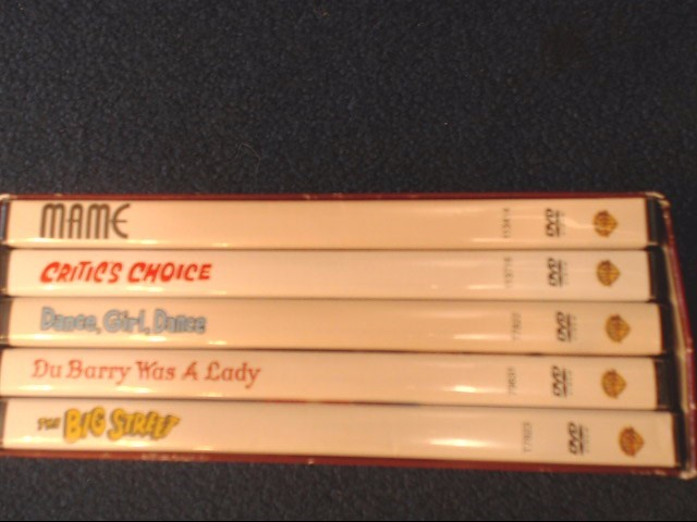 Lucy Lucille Ball Film Collection DVD 5-Movie Set