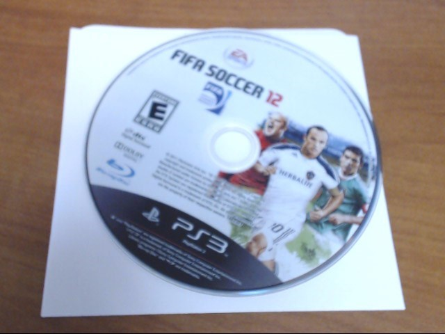SONY Sony PlayStation 3 Game FIFA SOCCER 2012