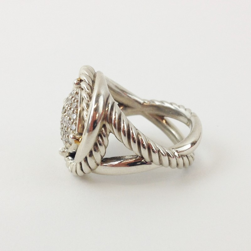 DAVID YURMAN LABYRINTH LADIES DIAMOND RING