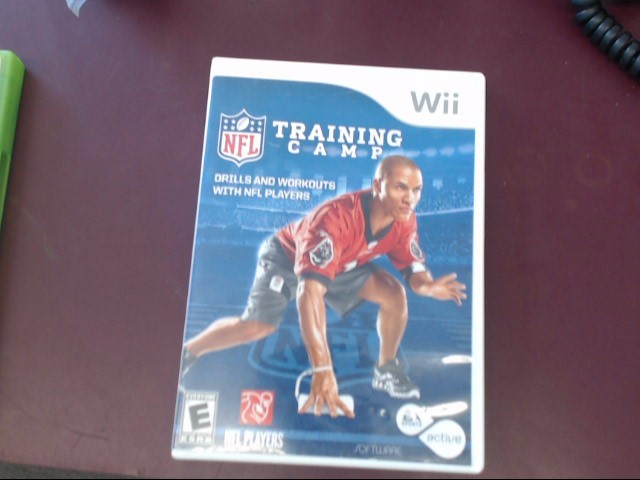 NINTENDO WII NFL TRAINING CAMP