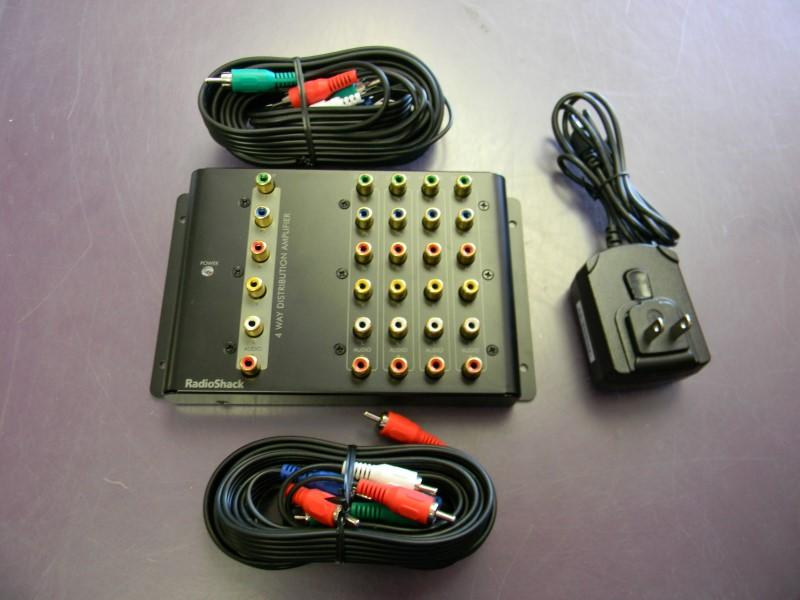 Radio Shack 15-311 Component Distribution Amplifier Splitter