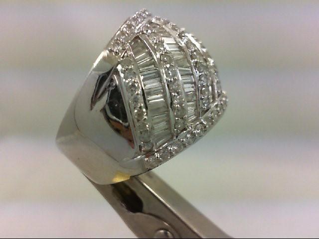 Ladies Diamond Fashion Ring 151 Diamonds 3.02 Carat T.W. 18K White Gold 13.1g