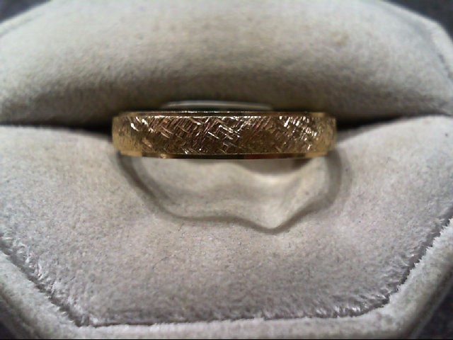 Gent's Gold Ring 14K Yellow Gold 3.2g Size:10