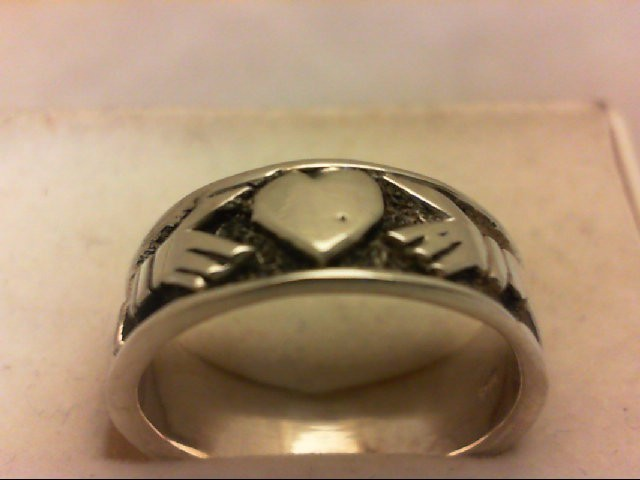 Lady's Silver Wedding Band 925 Silver 4.5g