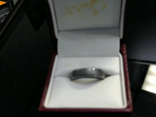 Gent's Ring Silver Tungsten 6.9dwt