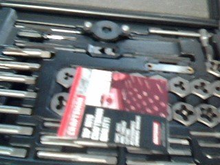 CRAFTSMAN Misc Metal Tool 952382 TAP AND DIE