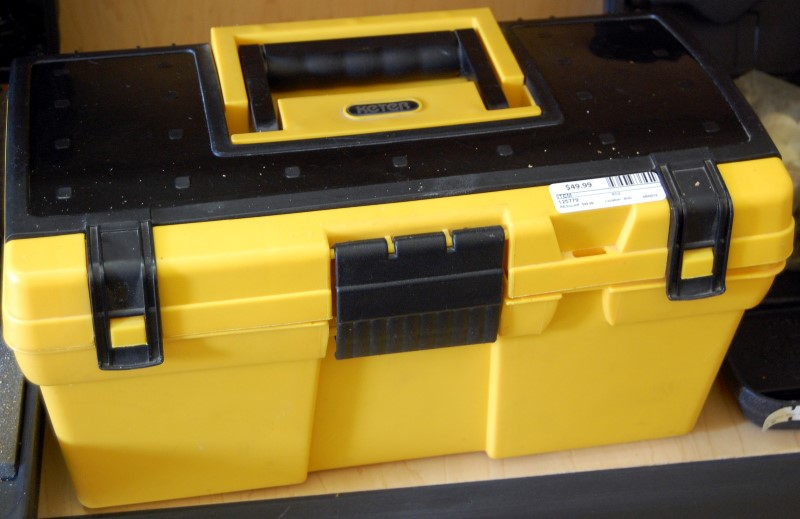 Keter Toolbox with Misc. Tools