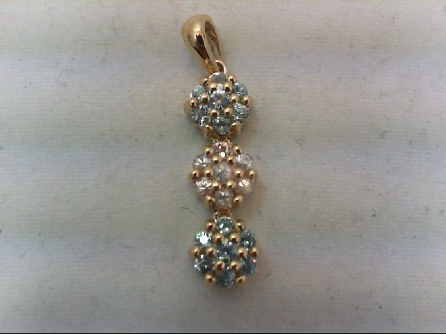 Gold Pendant 10K Yellow Gold 2.1g