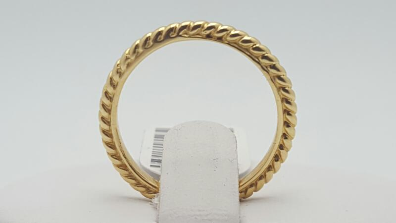 Lady's Gold Ring 14K Yellow Gold 2.4g Size:6