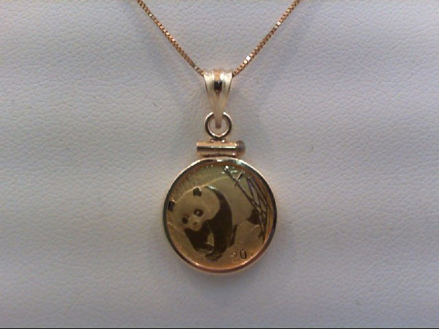 Gold Pendant 24K Yellow Gold 2.3g