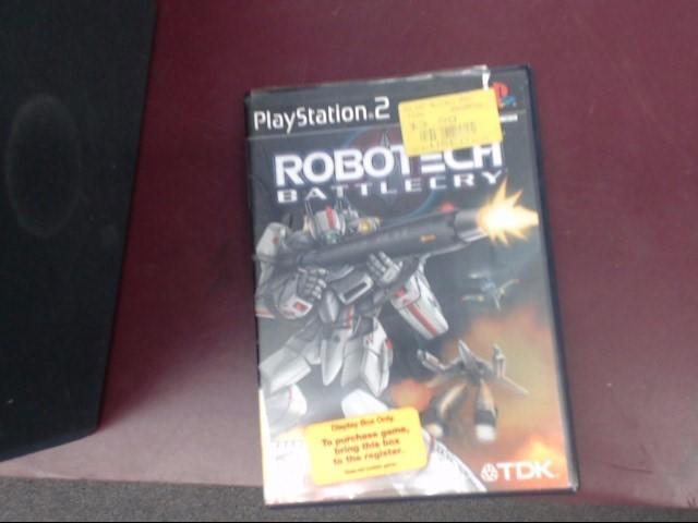 SONY PS2 ROBOTECH BATTLECRY