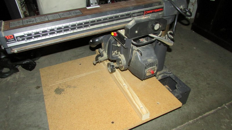 CRAFTSMAN Radial/Chop Saw 113.23100