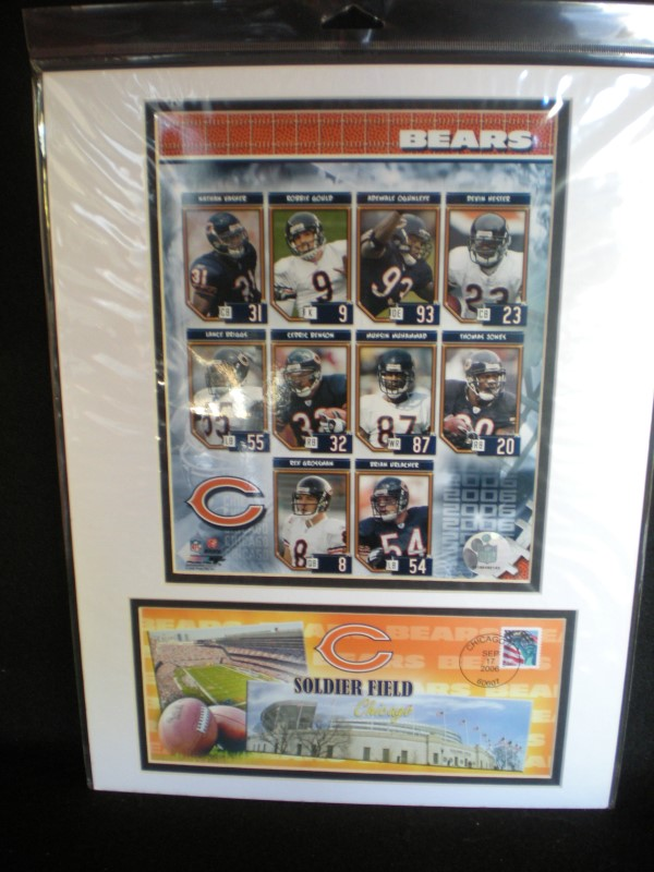 CHICAGO BEARS Sports Memorabilia PICTURES