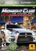 SONY Sony PlayStation 3 MIDNIGHT CLUB LOS ANGELES COMPLETE EDITION