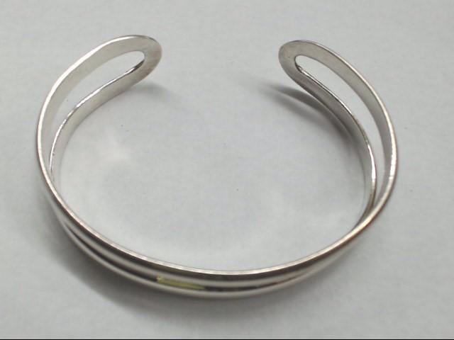 Silver Cuff Bracelet 925 Silver 18.8g