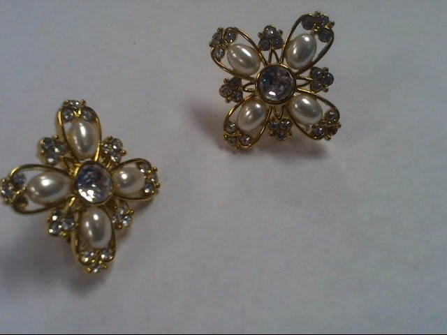 Earrings Antique Stainless 17.3g