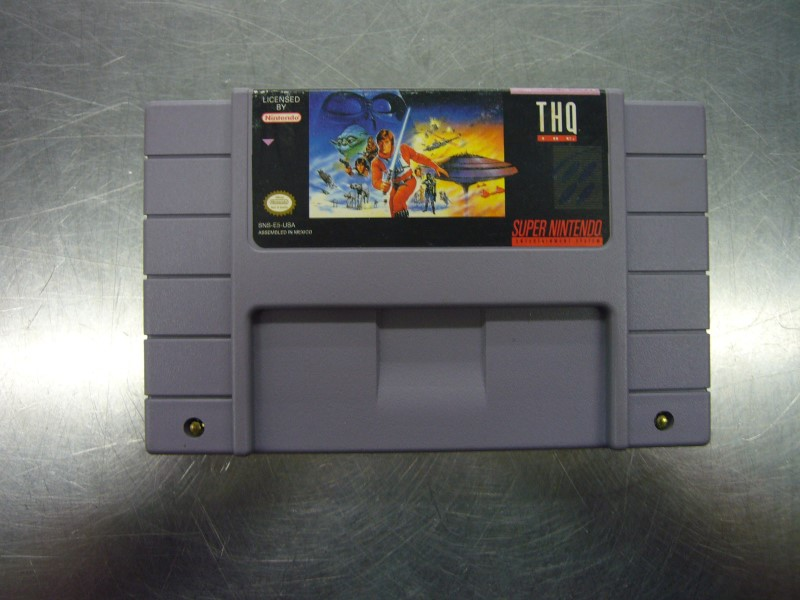 "SNES SUPER EMPIRE STRIKES BACK ""GAME ONLY"""