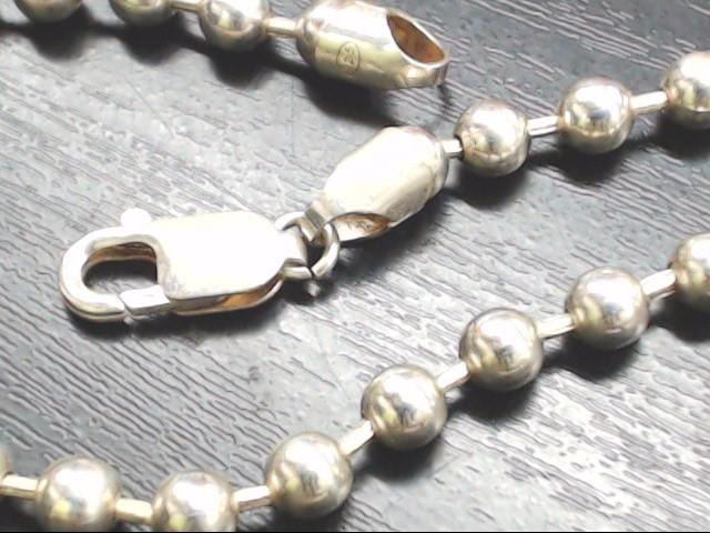"18"" Silver Chain 925 Silver 25.9g"
