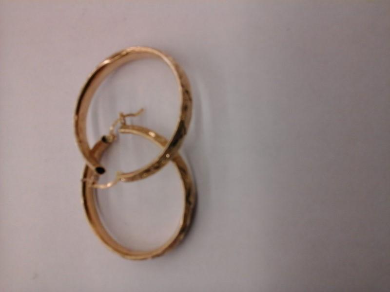 Gold Earrings 14K Yellow Gold 6.5g