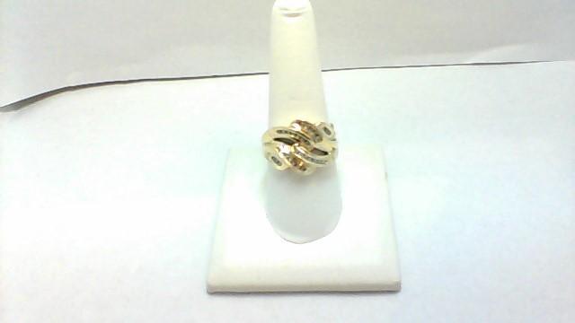Lady's Diamond Wedding Band 23 Diamonds .48 Carat T.W. 14K Yellow Gold 4.1g