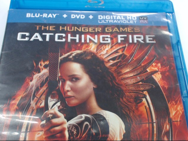 THE HUNTER GAMES CATCHING FIRE - BLU-RAY MOVIE