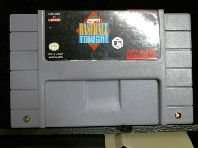 NINTENDO Nintendo SNES Game ESPN BASEBALL TONIGHT