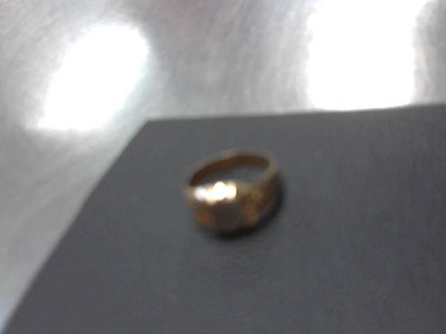 Child's Gold Ring 18K 2 Tone Gold 1.2g