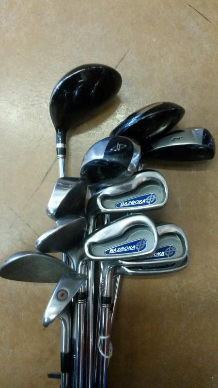 TOUR EDGE left-handed Golf Club Set BAZOOKA