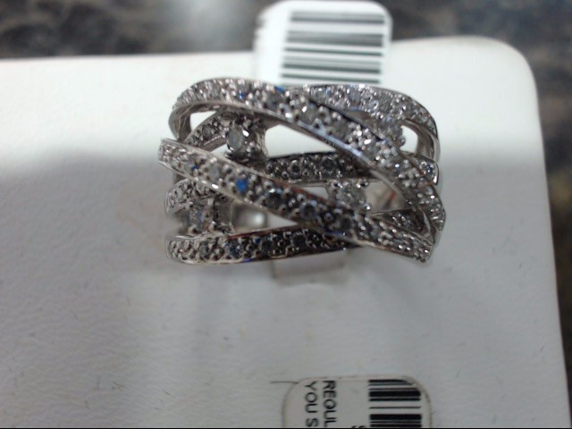 Lady's Gold Ring 14K White Gold 7g