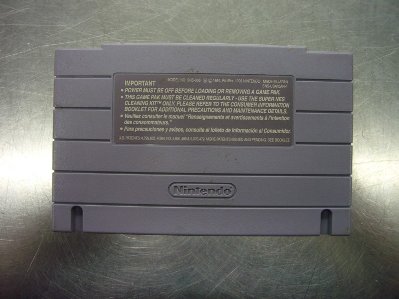NINTENDO SNES Game WARIO'S WOODS *CARTRIDGE ONLY*