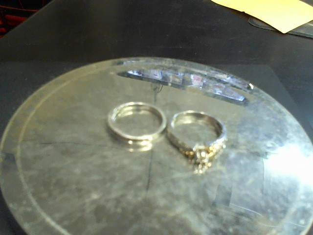 Lady's Diamond Wedding Set 19 Diamonds .28 Carat T.W. 10K White Gold 5.3g